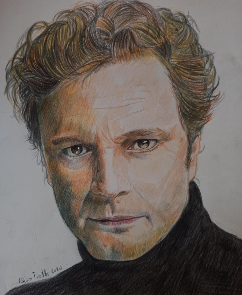 Colin Firth by g1adina87